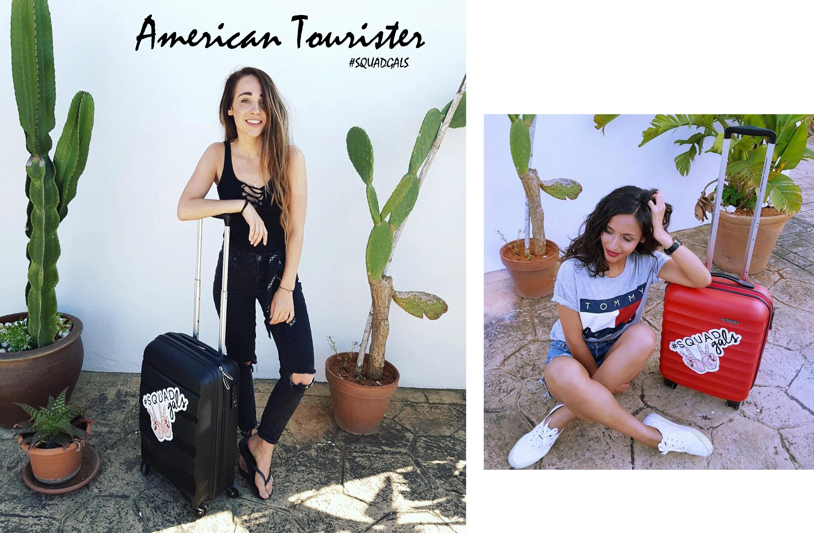 American Tourister x squadgals