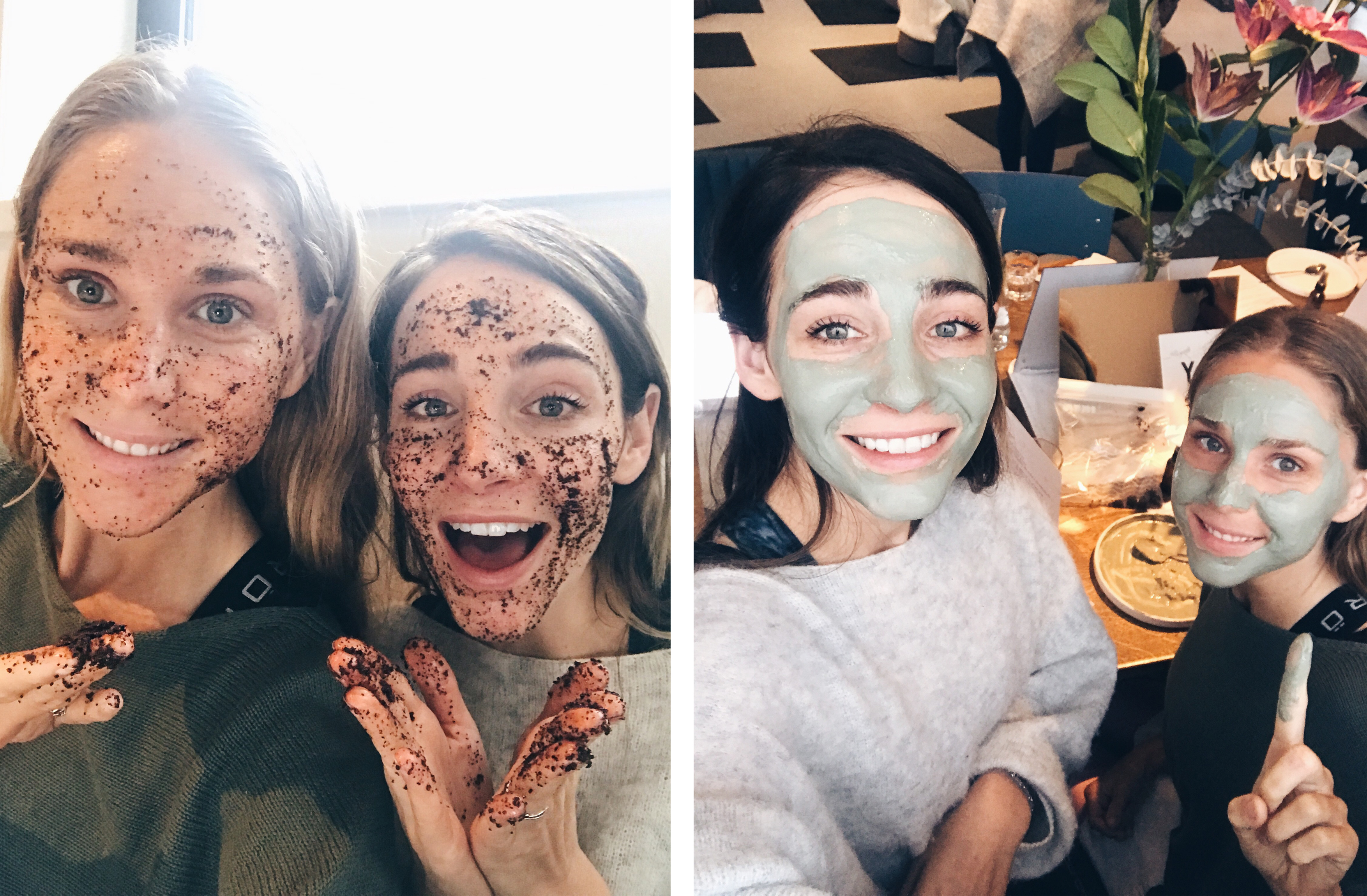 onedayretreats skin workshop